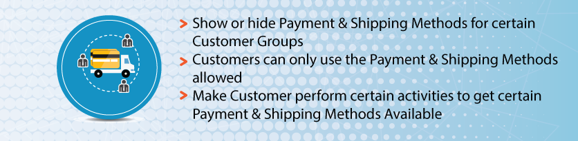 Magento 2 Payment & Shipping by Customer Group